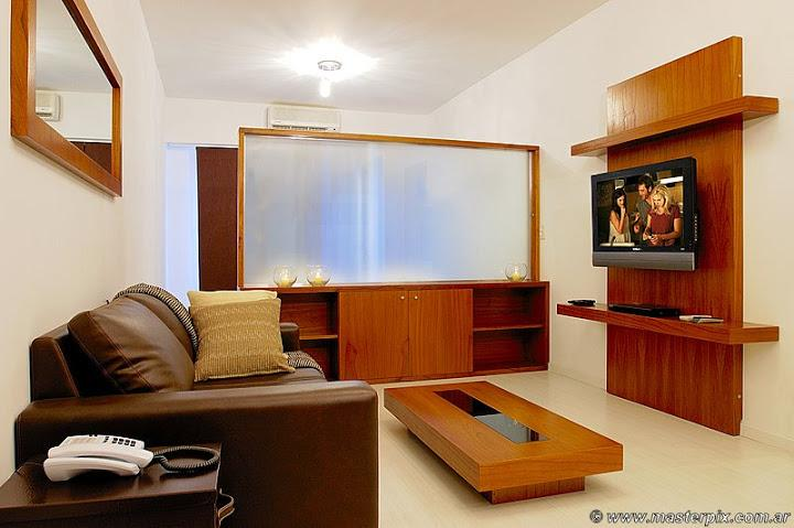 living and Tv place - Luxury Studio - with Balcony– Rooftop Pool - (LR4) - Buenos Aires - rentals