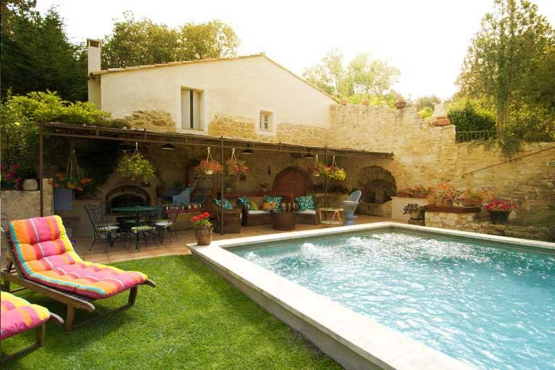 """New """"Le Nid Biscornu"""" Romantic 1 Bedroom Rental with Hot Tub and WiFi, in St Remy at Provence Paradise - Image 1 - Saint-Remy-de-Provence - rentals"""