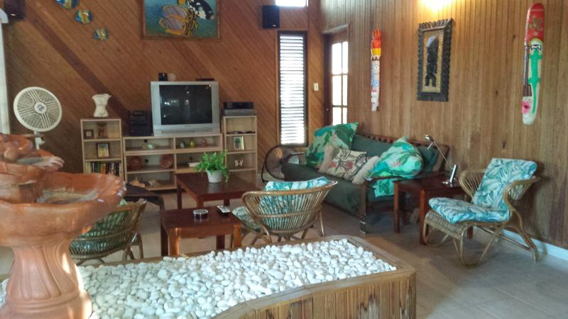 Livingroom - House close to town and beaches - Boqueron - rentals