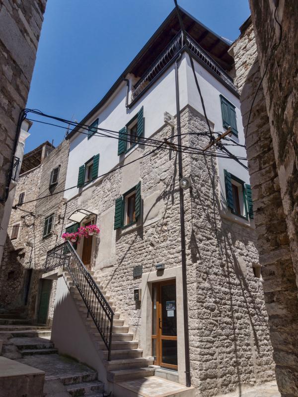 Beautiful stone house in center of Sibenik! - Image 1 - Sibenik - rentals