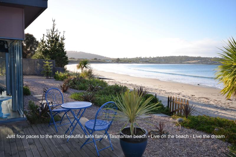 Frogmouth Cottage Live on the most beautiful Beach - Image 1 - Primrose Sands - rentals