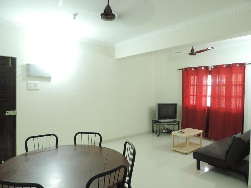 Hall - 1BHK Apartment in Candolim - Candolim - rentals