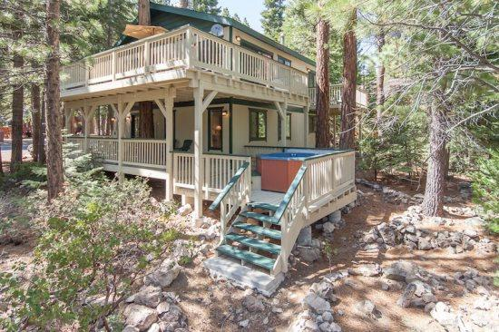 Forest Retreat Tahoe Rental - Dog Friendly,Hot Tub - Image 1 - Carnelian Bay - rentals