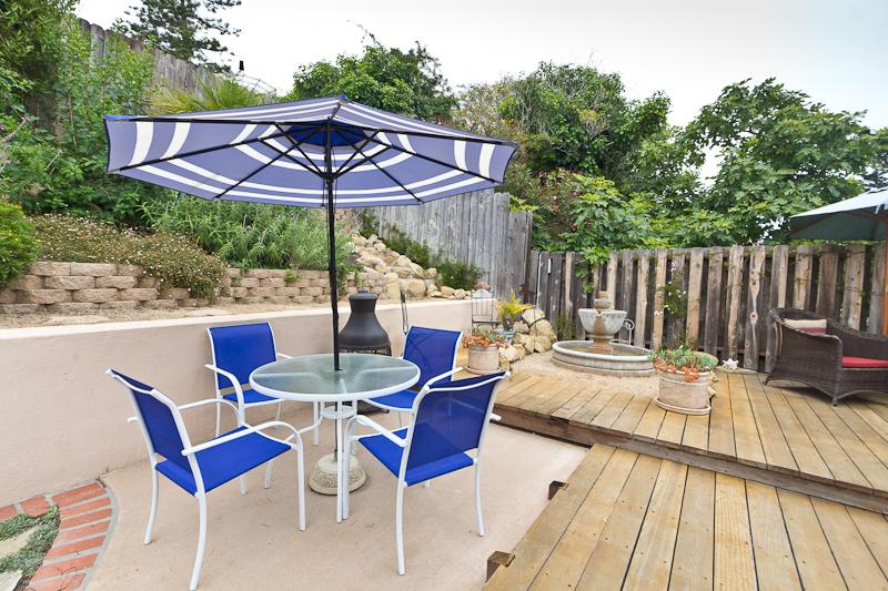 private backyard entertainment deck - Beautiful Home close to the Beach and Park - Santa Barbara - rentals