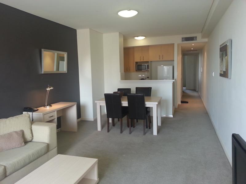 Large, bright and spacious open plan living, dining and kitchen area - 2 Bdrm split level apartment in Sydney's Chinatown - Sydney - rentals