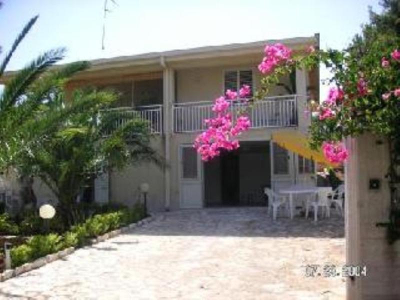 Villa Entrance - Villa Apartment in Baia di Guidaloca near Scopello - Castellammare del Golfo - rentals