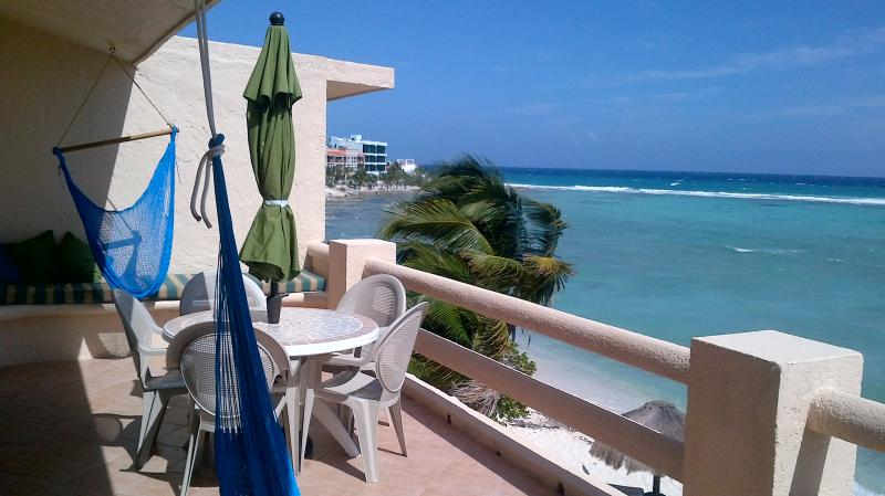 Huge open balcony - La Mirage Penthouse - Akumal - rentals