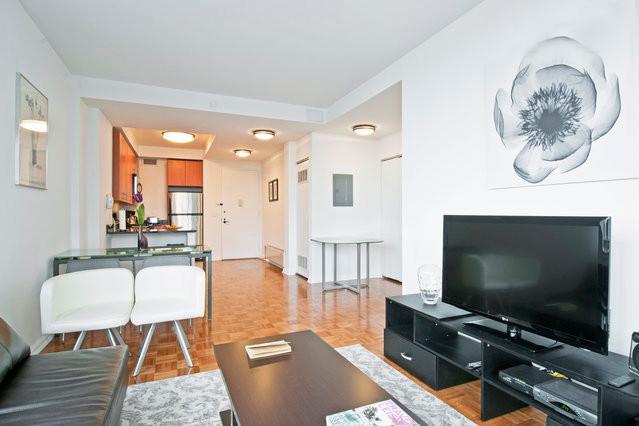 livimg room - Midtown Upscale Spaciou 2br-2bth - New York City - rentals