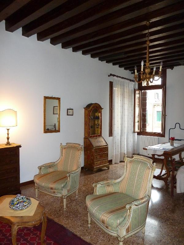 Salotto corner - Elegant apartment garden canal view - Venice - rentals