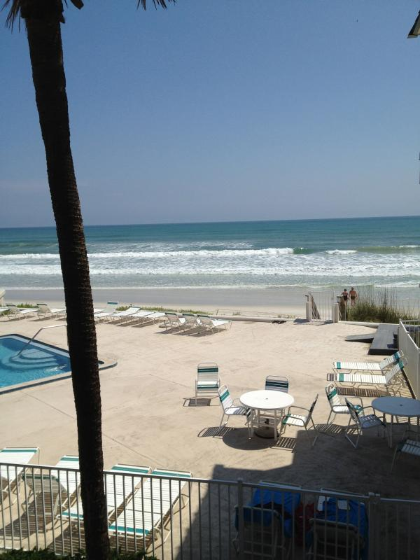 Direct oceanfront view from the unit!!! - Oceanfront SALE! Month of September $1,800 TOTAL! - New Smyrna Beach - rentals