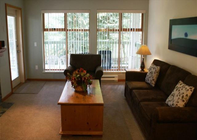 Living Room - Stoney Creek Northstar 19 - Pool & hot tub access, great location, free wifi - Whistler - rentals