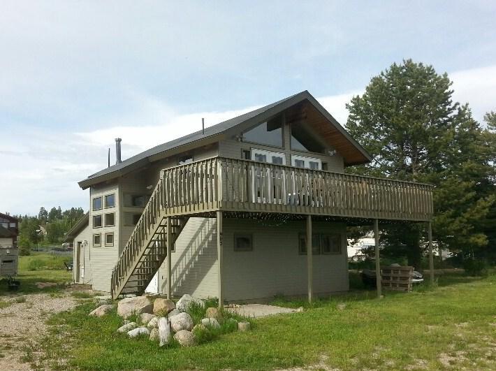 summer days - Lake Granby House, great lake and mtn views - Grand Lake - rentals