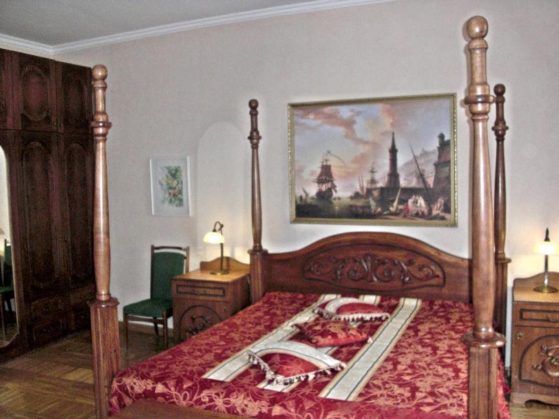 Master bedroom - Sunny Lounge Grand Apartment - Riga - rentals