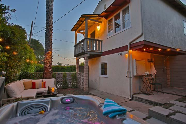 Hot Tub - Cota Cottage - Santa Barbara - rentals