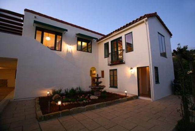 Back of Home - Casa Riviera - Santa Barbara - rentals