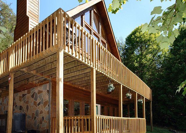 Eagle's View #516 - View of the Cabin - Gatlinburg Cabin in the mountains  EAGLE'S VIEW 516 - Gatlinburg - rentals