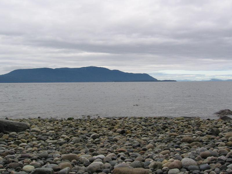Beach Looking at Orcas Island - WHALE WATCHER - Lummi Island - rentals