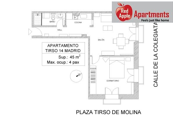 Apartment in the Old Madrid Center with Great View - Image 1 - Madrid - rentals