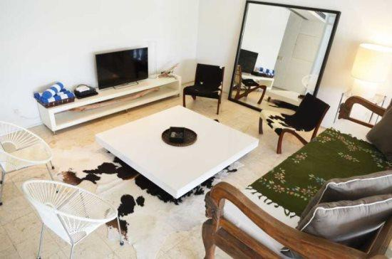 Magia Relax - Living area with TV - Playa del Carmen vacation rentals - Magia-Relax - Playa del Carmen - rentals