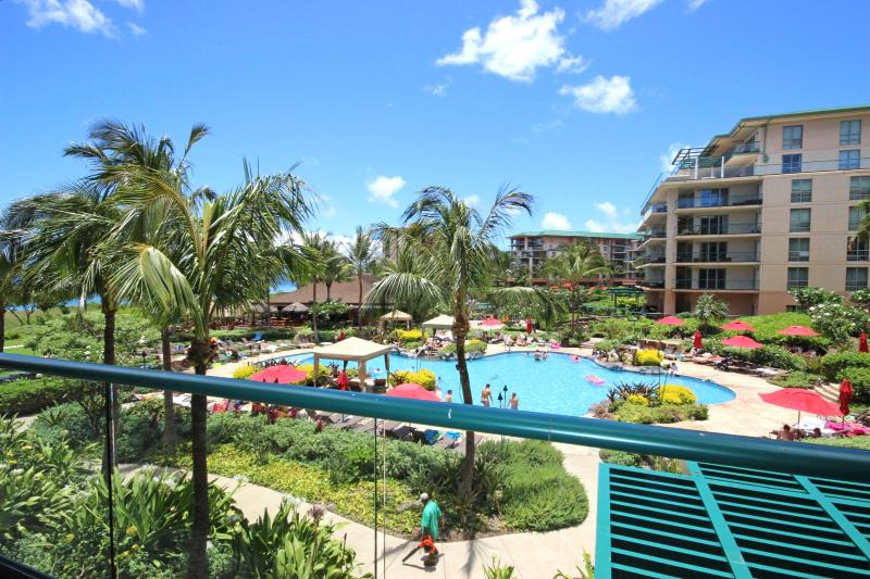 Views of resort and pool - Honua Kai #HKH-203 Kaanapali, Maui, Hawaii - Ka'anapali - rentals