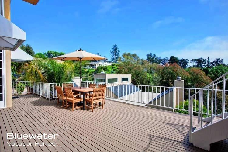 Beautiful sweeping views of the Pacific Ocean from the large outdoor patio. - La Jolla Serenity - Ocean view luxury La Jolla vacation rental - La Jolla - rentals