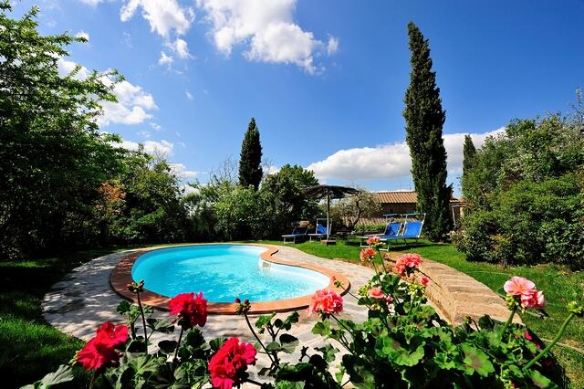 Private swimming pool - Tuscany 4 bedroom villa with pool - BFY13454 - Camucia - rentals