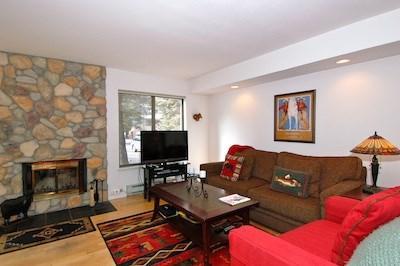 Living Room - Ketchum Vacation Rental: Horizon 4 Condo 141 - Ketchum - rentals