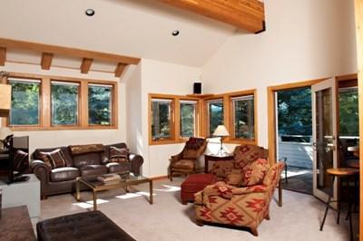 Living room - Warm Springs vacation home - Ketchum - rentals