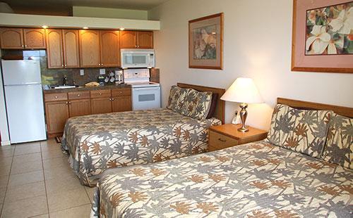 Living area from lanai - Kepuhi Beach 1233 - Maunaloa - rentals