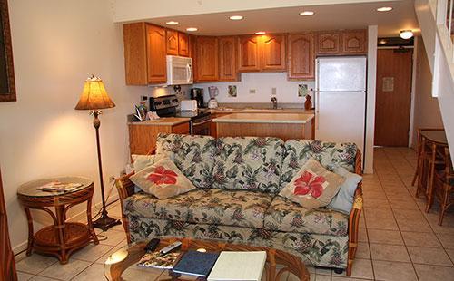 Living area from lanai - Kepuhi Beach Resort 2222 - Maunaloa - rentals