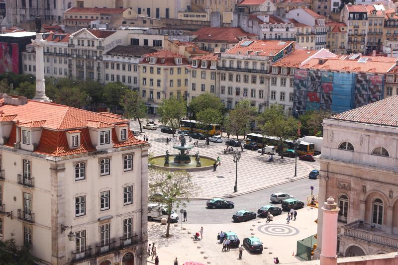 View from the living room - Casa Santana -  NEW photos! Lovely Rossio Views - Lisbon - rentals