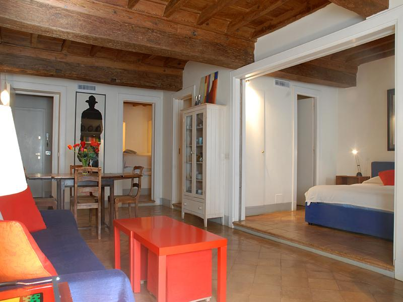 Living room - Retrome Navona Loft-Very central High standards Super.. - Rome - rentals