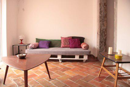 Living-room - Beautiful apartment with lovely patio and great view - Lisbon - rentals
