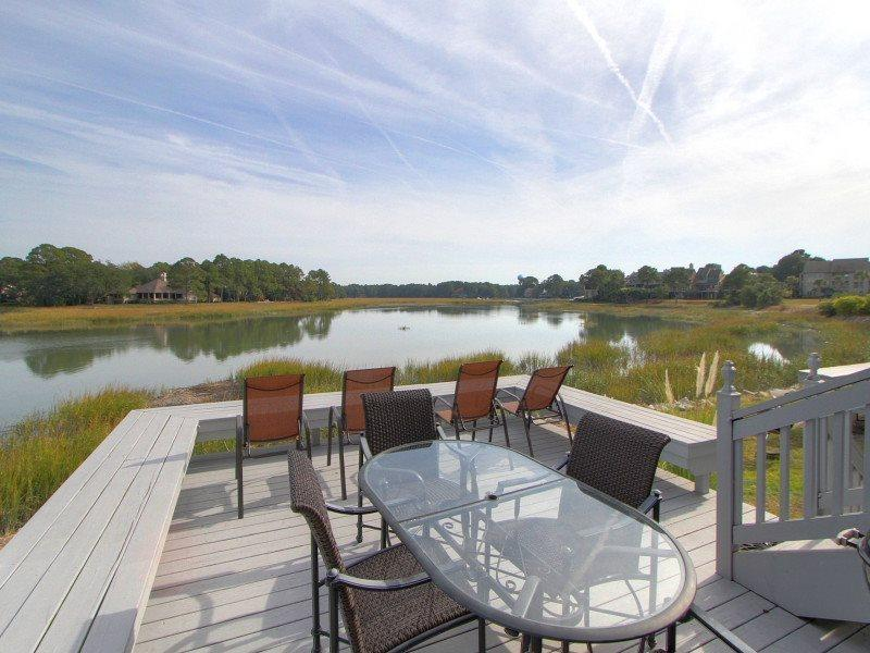 Beautiful Water Views from 16 Lands End Court - 16 Lands End Court - Sea Pines - rentals