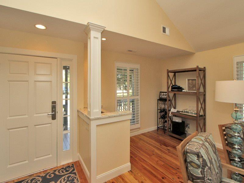 Entryway at 38 Lands End - 38 Lands End Road - Sea Pines - rentals