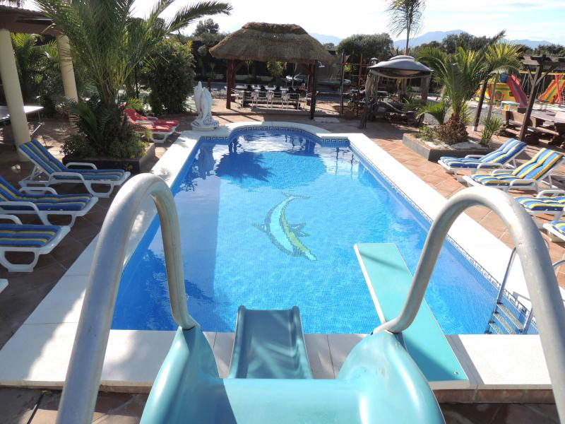 Vacation Rental, Holiday Home, With Large Heated Pool & Tropical Paradise - Holiday Home, Villa Rentals-Spain-Heated Pool-Wifi - Alhaurin de la Torre - rentals