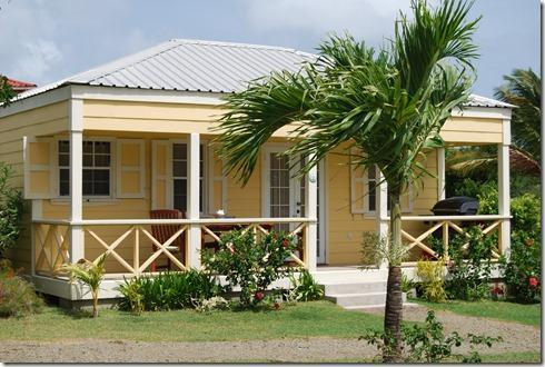 Studio Cottage with covered porch - Antigua's Yepton Estate Cottages- Studio Cottage - Five Islands Village - rentals