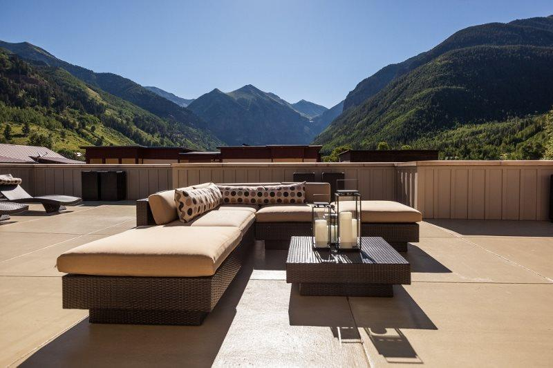 Unobstructed Mountain Views - Wolf Outdoor Cooking Range - Fully Furnished - Ballard Penthouse - 3 Bd / 4.5 Ba - Sleeps 8 - Telluride`s Most Exclusive Penthouse Property! Luxury! Location! Views! - Telluride - rentals