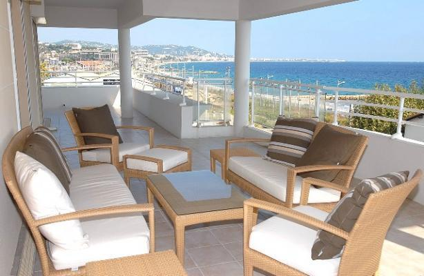Penthouse Palm, Cannes Rental with a Pool and Terrace - Image 1 - Cannes - rentals