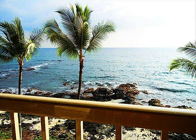 KRD32 $100 special all of May-September  Absolute Oceanfront Top Flr Private - Image 1 - Kailua-Kona - rentals