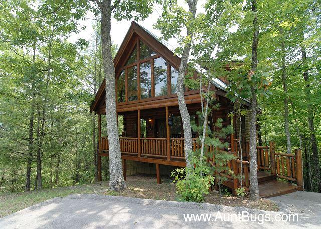 Beary Secluded #296- Outside View of the Cabin - Smoky Mountain Cabin Beary Secluded 296 - Sevierville - rentals