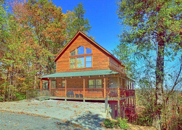 Can't Bear To Leave #455- Outside View of the Cabin - Pigeon Forge resort cabin - Pigeon Forge - rentals