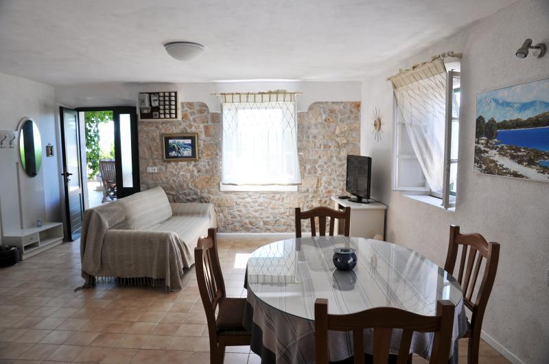 Bright and spacious apartmtent for 5 ;) - Pinta Lumbarda (5 per.) - Lumbarda - rentals