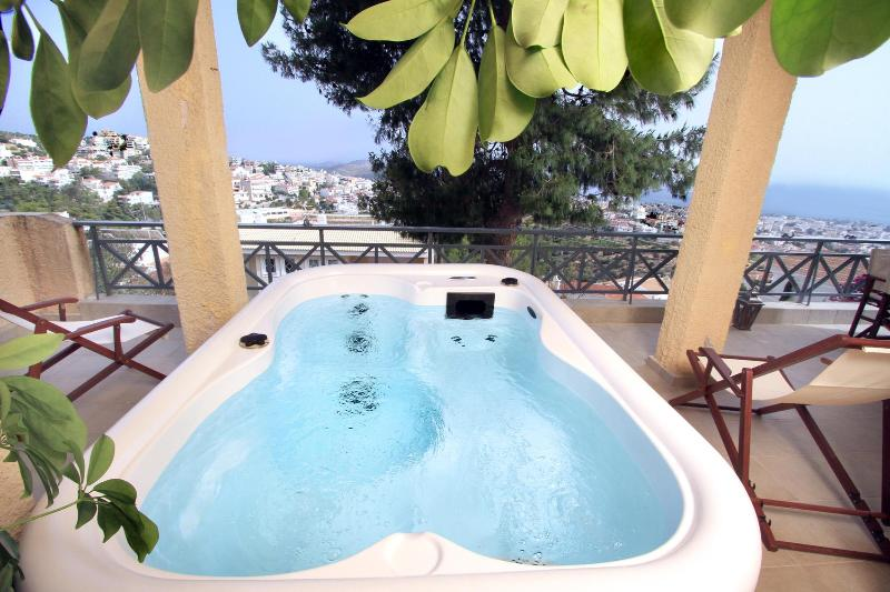A Unique Villa in Athens with Sea View & Jacuzzi - Image 1 - Glyfada - rentals