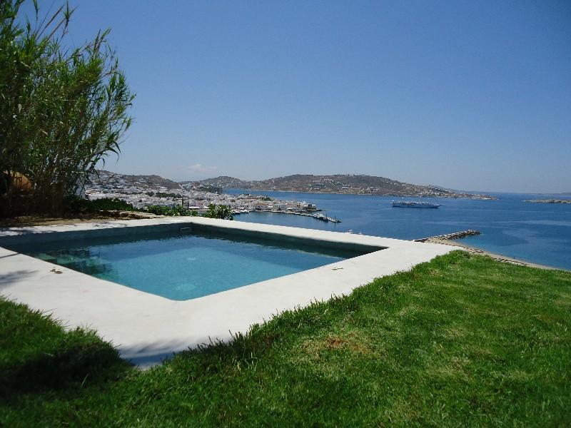 Ostria Villa-Mykonos Town Villa with sea view - Image 1 - Mykonos Town - rentals