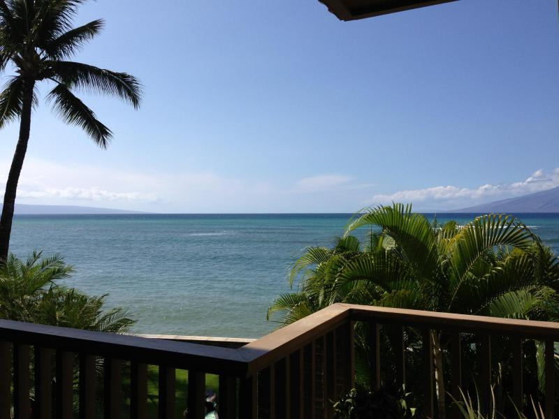 Amazing ocean front views! - OCEANFRONT-STEPS to water- hear waves crash! 1 BR - Napili-Honokowai - rentals