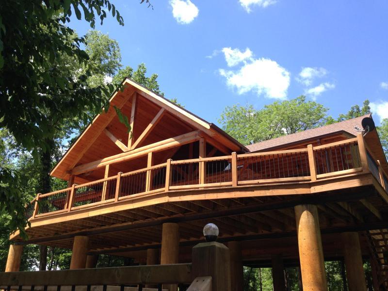 Riverfront Cabin on Current River, Van Buren, MO - Image 1 - Van Buren - rentals