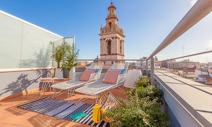 Caballeros Ático - Image 1 - Valencia - rentals