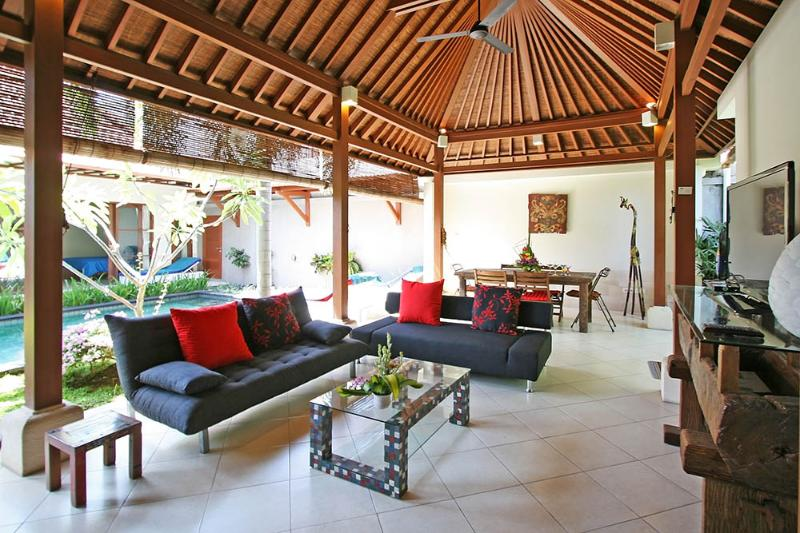 living room - Coconut Villa, Central Sanur - Sanur - rentals