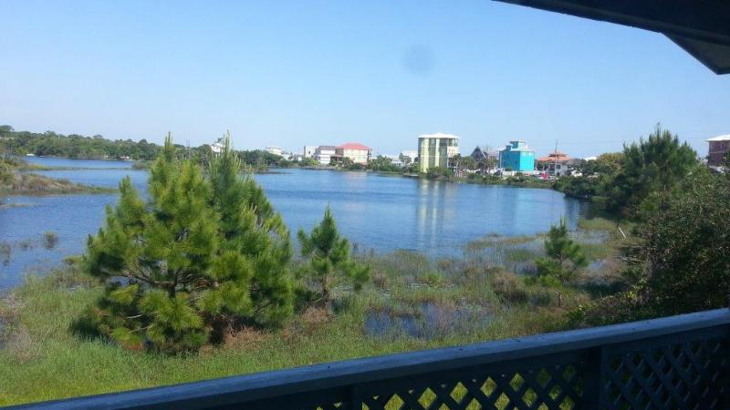 View for living room and back porch - Simple Beach Life: New Listing - Santa Rosa Beach - rentals